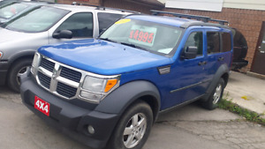 2007 Dodge Nitro 4x4 suv  safety included