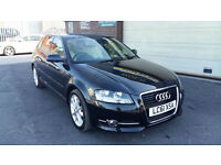 2011 AUDI A3 1.2 TFSI 105BHP SPORT SPORTBACK 5 DOOR ONLY 28000 MILES WITH FSH