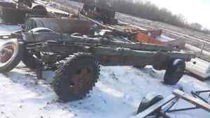 20 Foot Rolling Chassis for Farm Trailer or Hay Wagon