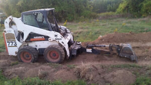 Bobcat  hoe attachment