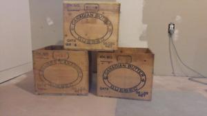Original Quebec Butter Crates **2 left!!**