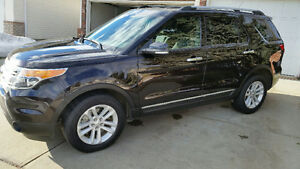 2013 Ford Explorer XLT SUV, 4X4, 3rd Row Seating