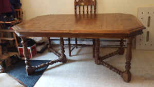 Oversized Dining Room Table