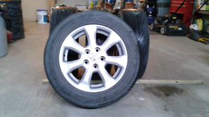 4 2007 Toyota camry wheels and tires .