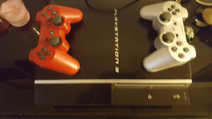 PlayStation 3 two controllers