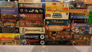 BOARD GAMES - DOWNSIZING - LOTS TO CHOOSE FROM
