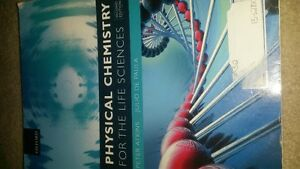 PHYSICAL CHEMISTRY LIKE NEW TEXTBOOK 3rd year chem