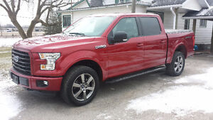 2015 Ford F-150 SuperCrew Sport 4x4 Pkup