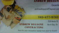 Andrew Degagne Contracting