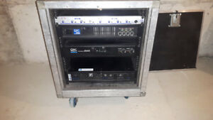 Pro Audio Power Amps - PA setup