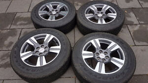 !! GMC CANYON CHEV COLORADO  FACTORY ALLOY WHEELS/TIRES $1250.00