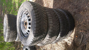 4 pneus 195/65R15 15 pouces / inches Gislaved Nord Frost