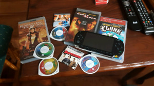 Psp + games/movies
