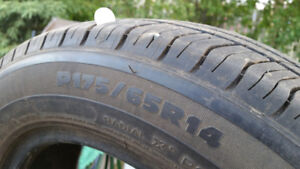 """Two 14"""" tires - $10 each"""