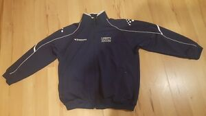 DIADORA Mens XL Large Soccer Futbol Football Full Zip Jacket Windsor Region Ontario image 1