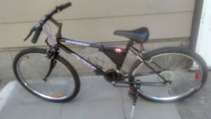 For Sale Pursuit CCM 18 speed Mountain Bicycle New tires