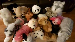 20 Plush Stuffies