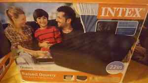 Intex Queen size Raised Downy Airbed