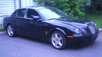 2005 jaguar S Type R 400HP Supercharged with 214000 km