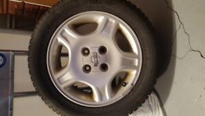 4 Nissan Rims/Michelin Winter 205/55/16