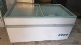 Jarp commercial deep freezer sliding doors fully working