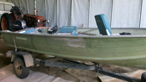 14 foot star craft boat