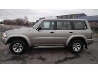 "NISSAN PATROL GR 3.0 DI SE+AUTOMATIC 2002 ""52"" REG 164,000 MILES 7 SEATER SILVER"