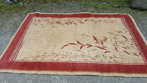 Zeus Rug        7 foot 5 inches by 5 feet