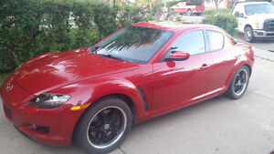 2004 Mazda RX-8 GT Sports Car with Sunroof and Suicide doors