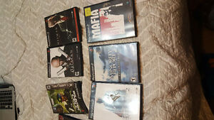 Alot of ps2 games 5 dollars each and 1 ps3 or 3 for 10