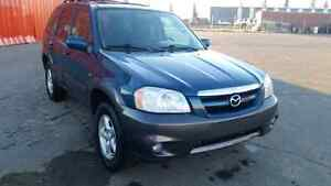 2005 Mazda Tribute 4wd. Low kms + Remote starter