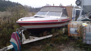 19ft citation Lazer inboard out board with trailer