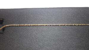 Triple Gold bracelet. 18k