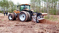 Tree and Brush land mulching services