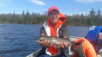 Brook Trout Fishing in Sault Ste Marie