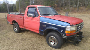 Parting out 1996 Ford F150 4x4