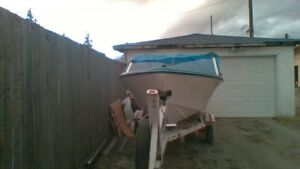nice clean boat that works fine-name a price,it needs to go