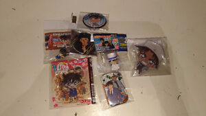 Detective Conan Case Closed Official goods anime keychain