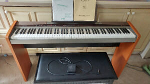 Casio Privia PX-100 plus bench