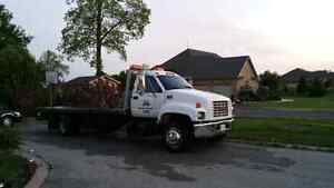 2003 GMC 6500 flatbed tow truck