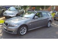 2011 BMW 318D TOURING ++2 KEYS++HALF LEATHER++1 OWNER++MAIN DEALER SERVICE HISTORY++