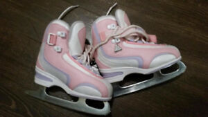 Figure Skates Jackson softec  size J13 for Girl