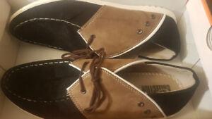 Faux-Suede Shoes (Comfy & Stylish Euro Design) - Sz. 11