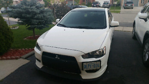 Selling 2010 Lancer DE with gts upgrades