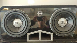 JBL Amplified Car Subwoofer System