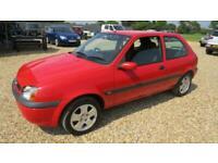 2002 Ford Fiesta 1.25 FREESTYLE 3 DOOR HATCHBACK HATCHBACK Petrol Manual