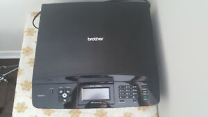 Brother Printer/Fax/Scanner Wireless- Mint condition