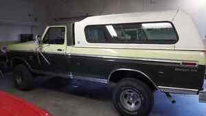 1975 Ford F150 4x4 never been painted all original body