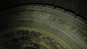 Four winter tires made in Japan Kingston Kingston Area image 5