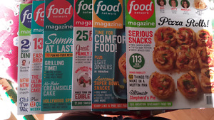6 Food Network Magazines